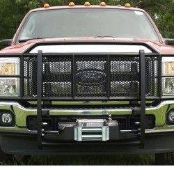 2011+ FORD F-250-550 GRILLE GUARD WITH A WINCH MOUNT