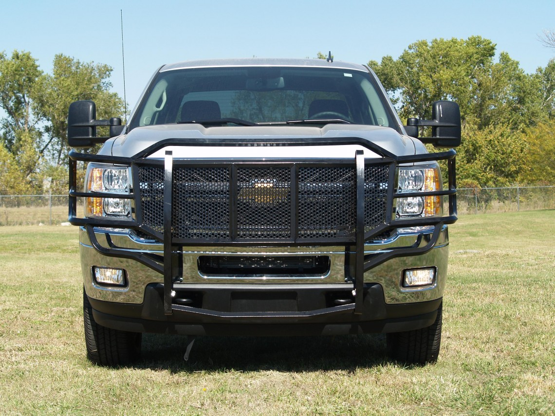 Chevy 2500 3500 Grille Guard 2011 2014 Thunder Struck
