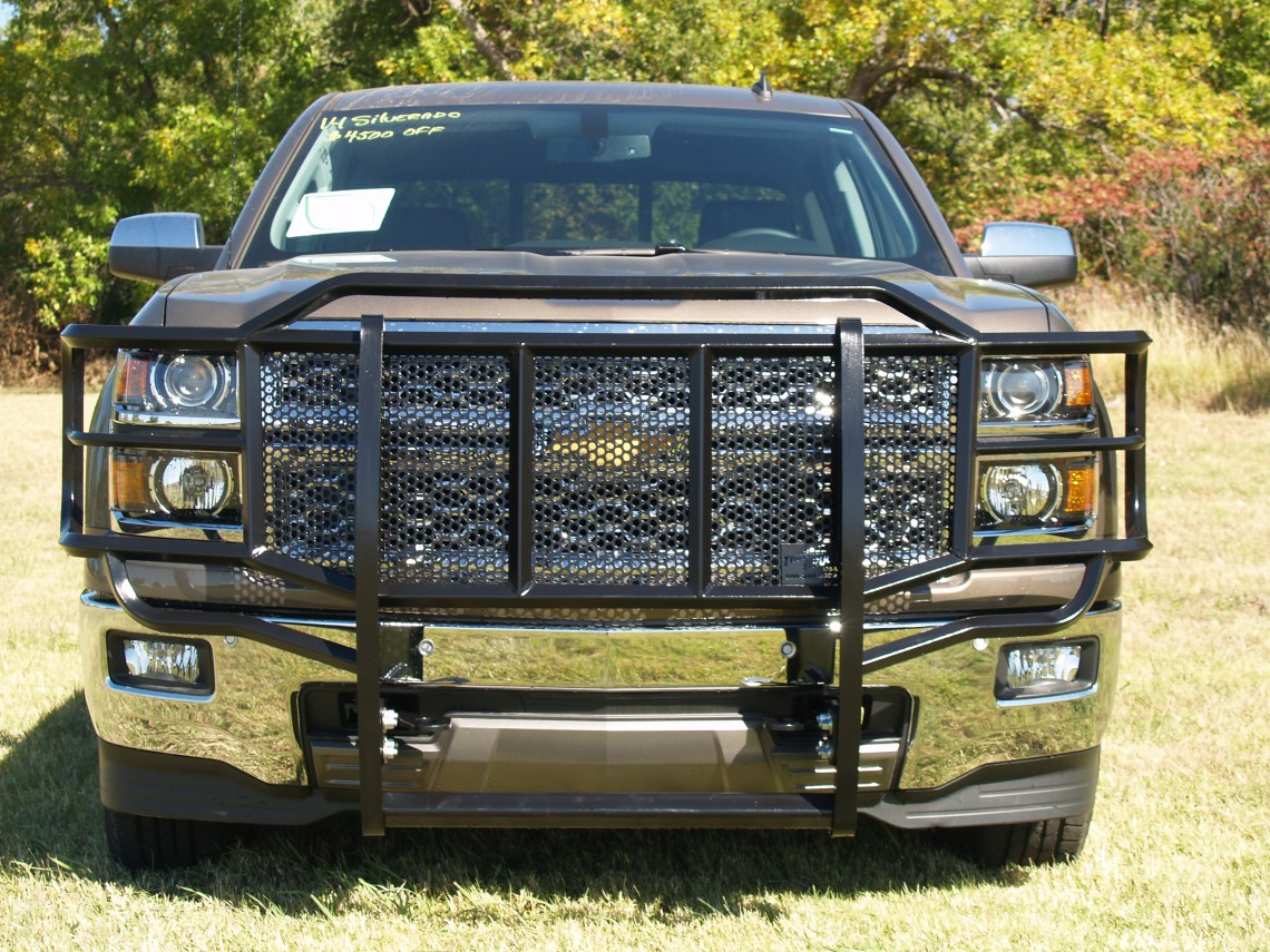 Chevy Brush Guard : Chevy grille guard thunder struck bumpers