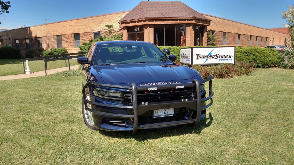 Dodge Charger Grille Guard 2015 Thunder Struck Bumpers