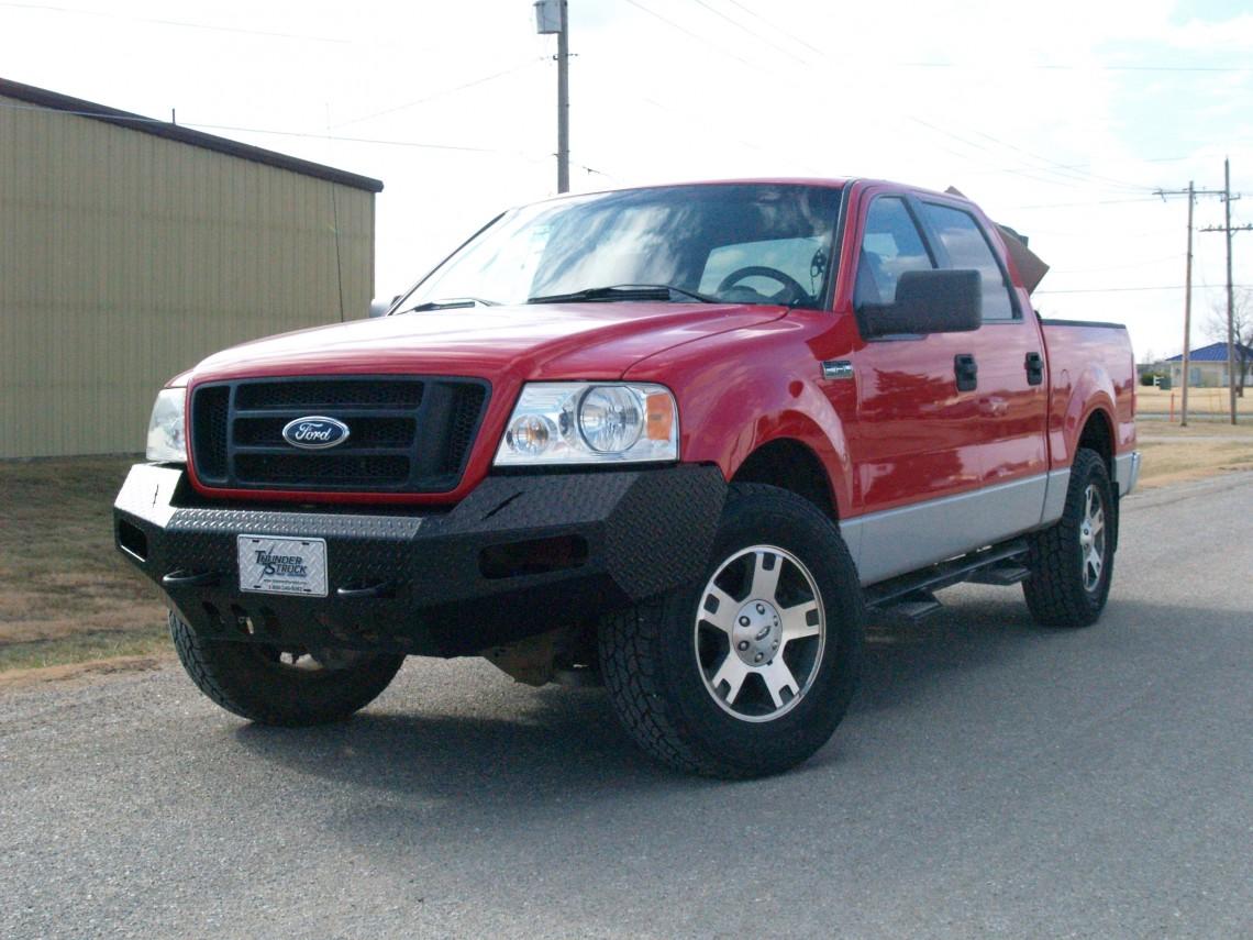 Ford f 150 premium front bumper 2004 2006