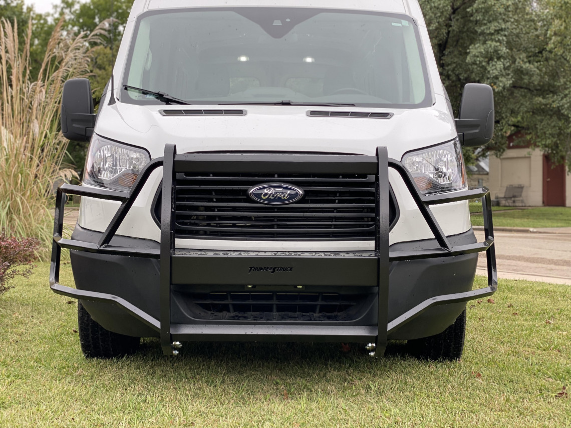 Ford Transit Van 2015 2016 2017 2018 2019 2020 2021 grille guard, brush guard, deer guard, commercial van guard