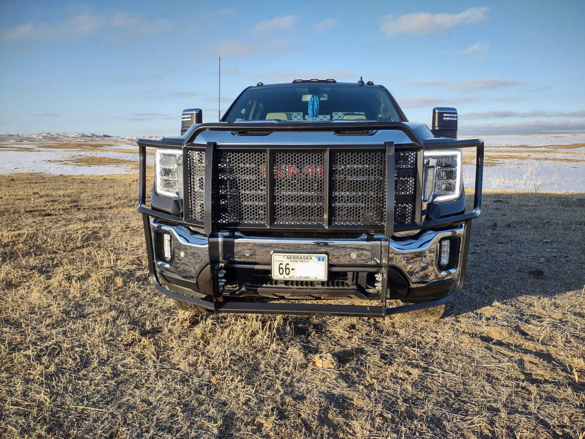 2020+ GMC 2500 GRILLE GUARD