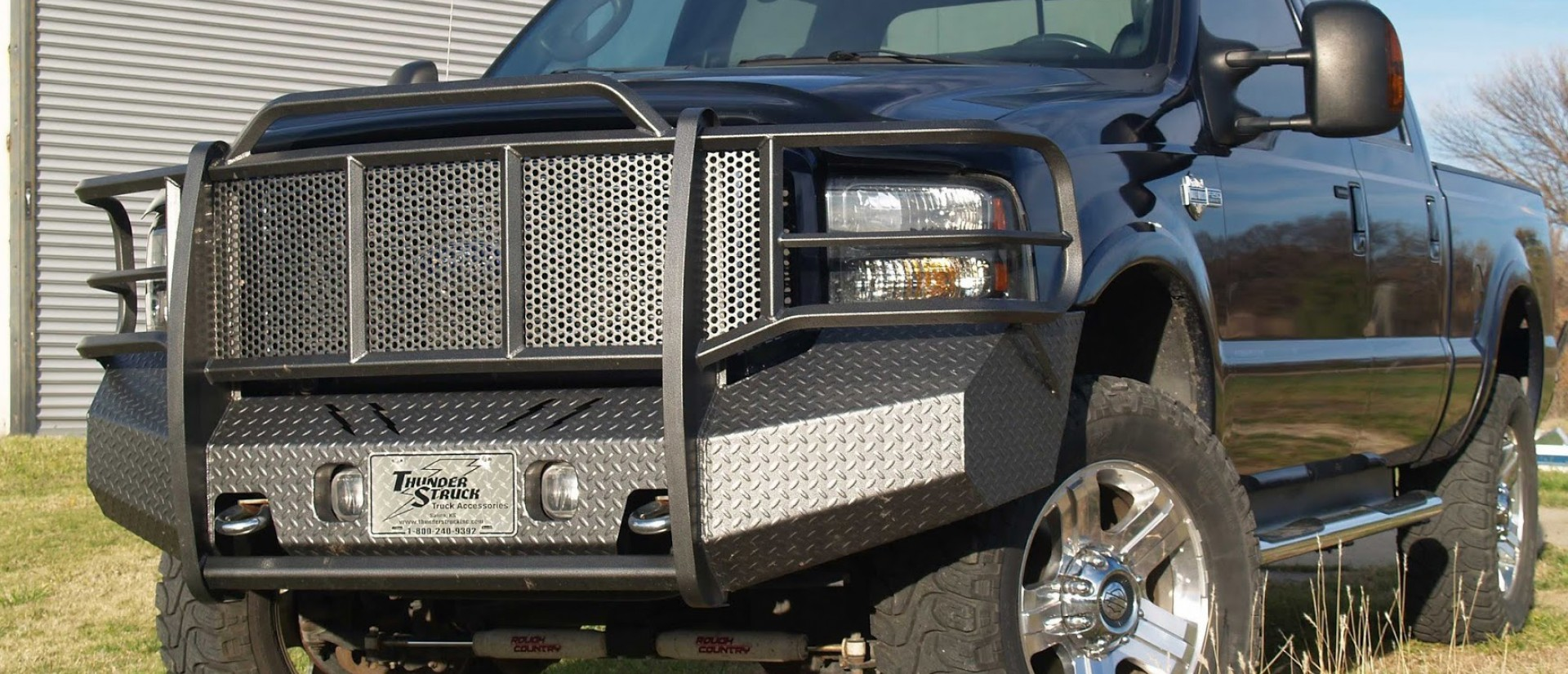 Truck with Thunderstruck Bumper